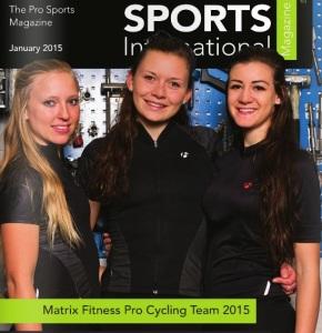 Sports International Magazine Cover