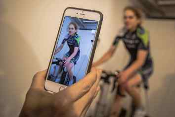 Alice Cobb bike fit - by Huw Williams